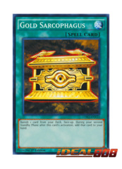 Gold Sarcophagus - LDK2-ENY22 - Common - 1st Edition