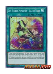 Sky Striker Maneauver - Vector Blast - SOFU-EN061 - Super Rare - 1st Edition