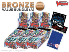 Cardfight Vanguard G-CHB01 Bundle (A) Bronze - Get x3 TRY3 NEXT Booster Box + FREE Bonus