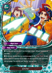 Gotcha! [X2-BT01A-SP/0027EN R (Parallel FOIL)] English