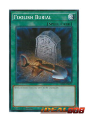 Foolish Burial - SR02-EN029 - Common - 1st Edition