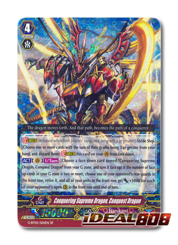 Conquering Supreme Dragon, Conquest Dragon - G-BT02/S02EN - SP