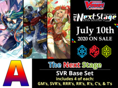 # The Next Stage [V-EB14 ID (A)] SVR Base Set [4 of each SVR's, RRR's, RR's, R's, & C's (256 Cards)]