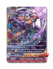 Fifth Omni Cavalry Dragon, Light Rim Alliot [H-EB04/0062EN RRR (FOIL)] English