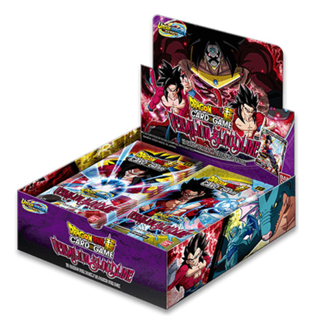 DBS-B11 Unison Warrior Vermilion Bloodline (English) Dragon Ball Super Booster Box [24 Packs] <SERIES 11>