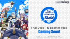 That Time I Got Reincarnated as a Slime (English) Weiss Schwarz Trial  Deck+ Box [Contains 6 Decks] * Coming Soon!