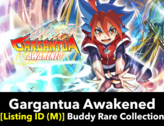 # Gargantua Awakened [S-BT01 Listing ID (M)] Buddy Rare Collection (Includes 1 of each BR)