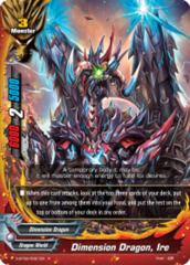Dimension Dragon, Ire [S-BT02/0021EN R (Glossy)] English