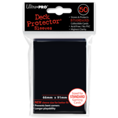 Ultra Pro Large Sleeves 50ct. - Black (#82669)