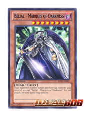 Belial - Marquis of Darkness - BP02-EN061 - Rare - 1st