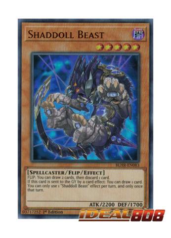 Shaddoll Beast - BLHR-EN083 - Ultra Rare - 1st Edition