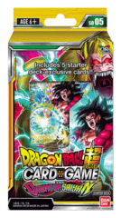 DBS-SD05 The Crimson Saiyan (English) Dragon Ball Super Starter Deck