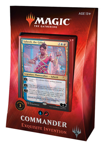 Commander 2018: Exquisite Invention (Blue / Red)