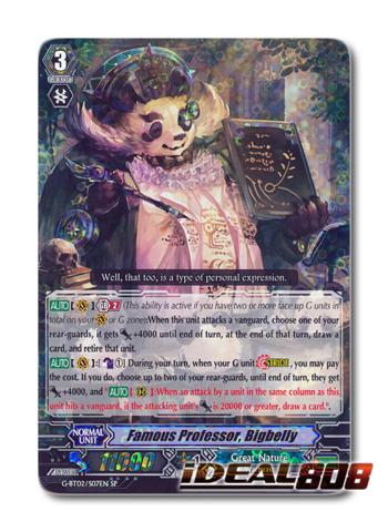 Famous Professor, Bigbelly - G-BT02/S07EN - SP