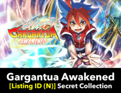 # Gargantua Awakened [S-BT01 Listing ID (N)] Secret Rare Collection (Includes 1 of each Secret)