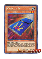 Cardcar D - GAOV-EN006 - Secret Rare - Unlimited Edition