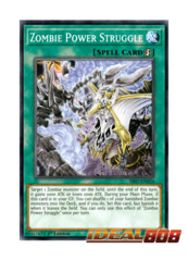 Zombie Power Struggle - SR07-EN024 - Common - 1st Edition