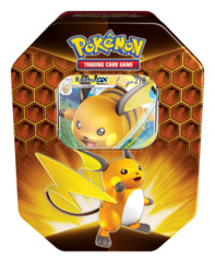 Hidden Fates Pokemon Tin - Raichu