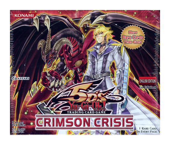 Crimson Crisis Booster Box (1st Edition)