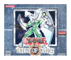 Enemy of Justice Booster Box (1st Edition)