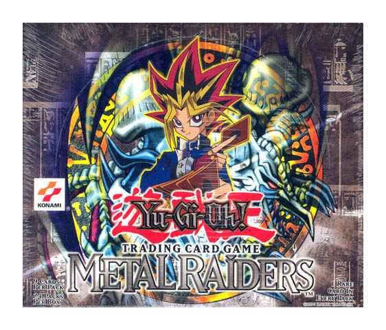 Metal Raiders Booster Box (Unlimited)