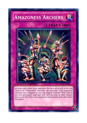 Amazoness Archers - GLD3-EN046 - Common - Limited Edition
