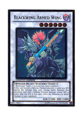 Blackwing Armed Wing - GLD3-EN039 - Gold Rare - Limited Edition
