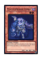 Plaguespreader Zombie - GLD3-EN019 - Gold Rare - Limited Edition