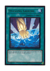 Smashing Ground - GLD3-EN042 - Gold Rare - Limited Edition