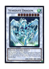 Stardust Dragon - GLD3-EN037 - Gold Rare - Limited Edition