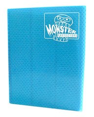 Monster Protectors 9 Pocket Binder - Blue