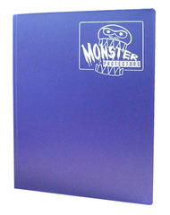 Monster Protectors 9 Pocket Binder - Matte - Purple