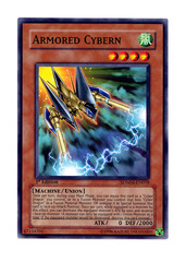 Armored Cybern - SDMM-EN018 - Common - 1st Edition