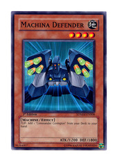 Machina Defender - SDMM-EN008 - Common - 1st Edition