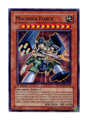 Machina Force - SDMM-EN009 - Common - 1st Edition