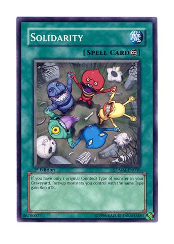 Solidarity - SDMM-EN030 - Common - 1st Edition