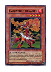 Evocator Chevalier - SDWS-EN002 - Super Rare - 1st Edition