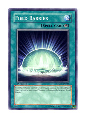 Field Barrier - SDZW-EN028 - Common - 1st Edition