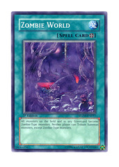 Zombie World - SDZW-EN017 - Common - 1st Edition