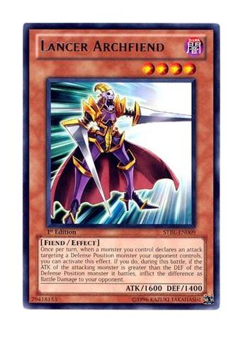 Lancer Archfiend - STBL-EN009 - Rare - 1st Edition