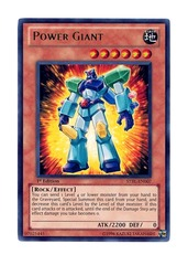 Power Giant - STBL-EN007 - Ultra Rare - 1st Edition