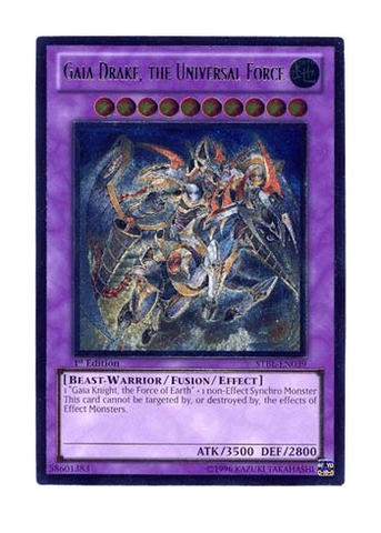 Gaia Drake, the Universal Force - STBL-EN039 - Ultimate Rare - 1st Edition