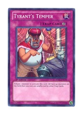 Tyrant's Temper - STBL-EN079 - Super Rare - 1st Edition