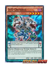D/D Orthros - SDPD-EN004 - Super Rare - 1st Edition