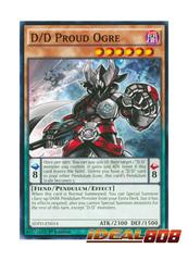 D/D Proud Ogre - SDPD-EN014 - Common - 1st Edition
