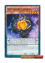 D/D Savant Copernicus - SDPD-EN003 - Common - 1st Edition