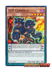 D/D Cerberus - SDPD-EN007 - Common - 1st Edition