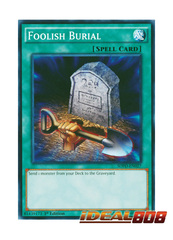 Foolish Burial - SDPD-EN027 - Common - 1st Edition