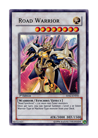 Road Warrior - 5DS2-EN041 - Ultra Rare - 1st Edition