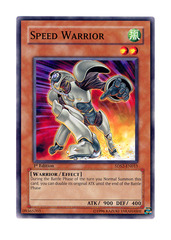 Speed Warrior - 5DS2-EN015 - Common - 1st Edition